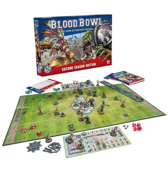 200-01 Blood Bowl: Second Season Edition Core Game