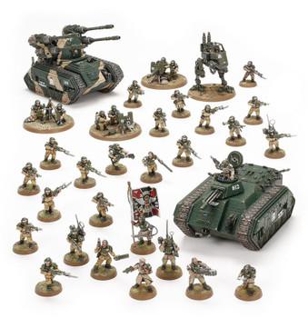 47-29 Astra Militarum: Bastion Platoon