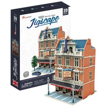 3D PUZZLE - AUCTION HOUSE AND STORES JIGSCAPE