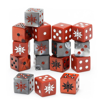 111-73 Warcry: Agents of Chaos Dice