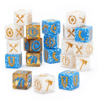 110-09 WH Underworlds: Grand Alliance Order Dice Pack