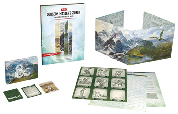 Dungeon Masters Screen: Wilderness Kit