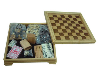 7 in 1 Deluxe Game Set
