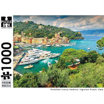 Puzzle Master 1000pc: Portofino Harbour