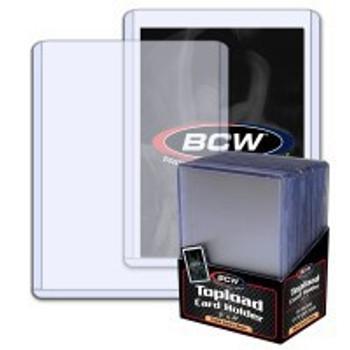 BCW Topload Crad Holder regular clear - 3 x 4 59pt 25ct