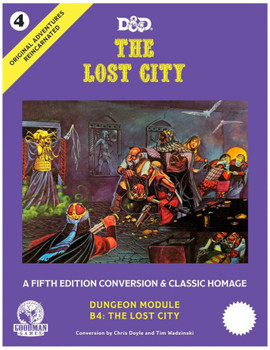 D & D Original Adventures Reincarnated #4: The Lost City Supplement