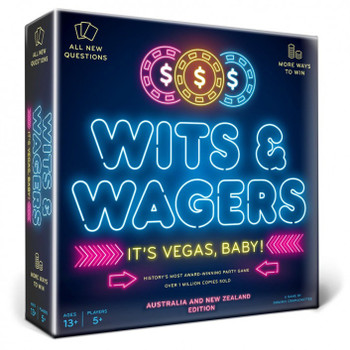 Wits & Wagers: It's Vegas Baby - OZ & NZ Edition
