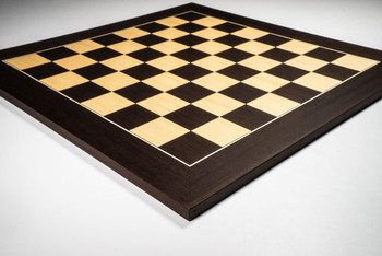 Wenge and Maple Deluxe Chess Board 55mm Squares