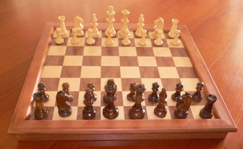 Folding Chess Set. 95mm King