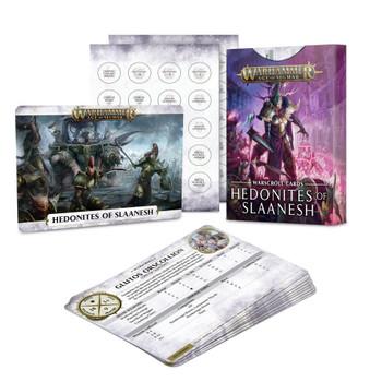 83-71 Warscroll Cards: Hedonites of Slaanesh 2021