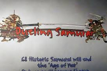 Dueling Samurai