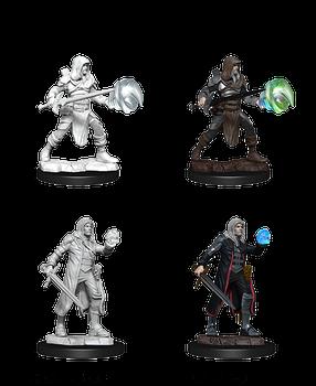 Multiclass Fighter + Wizard Male W13