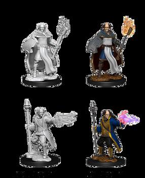 Multiclass Cleric + Wizard Male W13