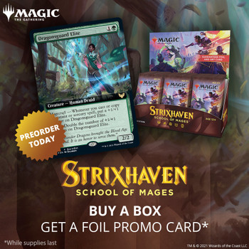 Strixhaven School of Mages: Set Booster Box & Buy a Box Promo