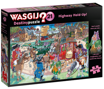Wasgij? #21 Mystery Puzzle 1000pc - Highway Holdup