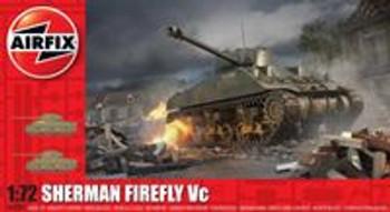 Sherman Firefly Tank: 1:72 Scale Model Kit