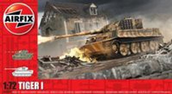 Tiger 1 Tank: 1:72 Scale Model Kit