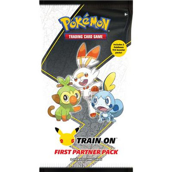Train On First Partner Pack - Galar