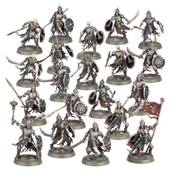 91-42 Soulblight Gravelords: Deathrattle Skeletons