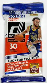 2020-21 Donruss Basketball Fatpack