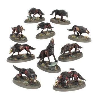 91-45 Soulblight Gravelords: Dire Wolves