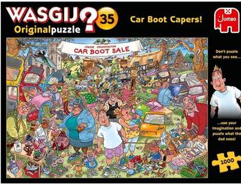Wasgij? Original Puzzle #35: Car Boot Capers!