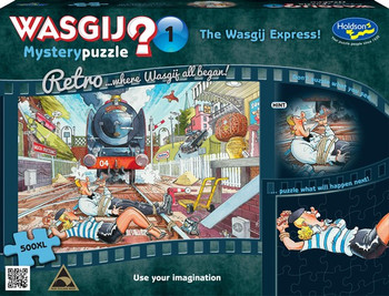 Wasgij? Mystery Puzzle #1: The Wasgij Express