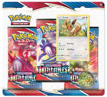 Sword and Shield – Battle Styles Three Booster Blister