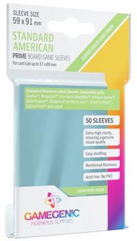 Gamegen!c Prime Board Game Sleeves: Standard American Size Green