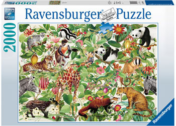 Jungle Puzzle 2000pc