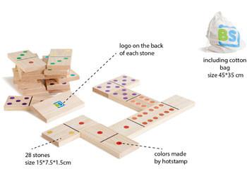 Giant Wood Domino's