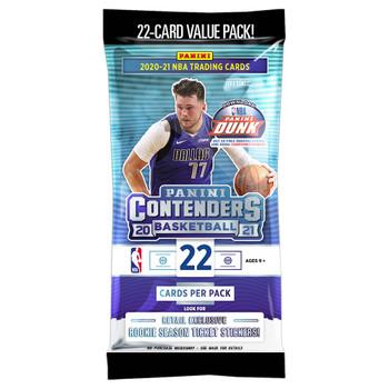 2020-21 Panini Contenders Basketball Fatpack