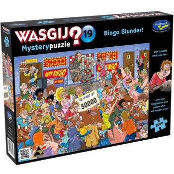 Wasgij? #19 Mystery Puzzle 1000pc - Bingo Blunder