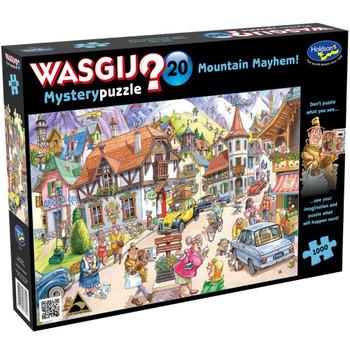 Wasgij? #20 Mystery Puzzle 1000pc - Mountain Mayhem