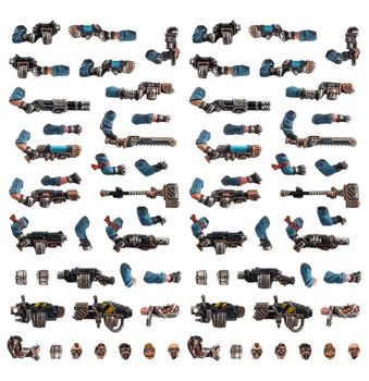 300-73 Necromunda: Orlock Weapons Upgrades