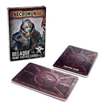 300-28 Necromunda: Delaque Gang Tactics Cards