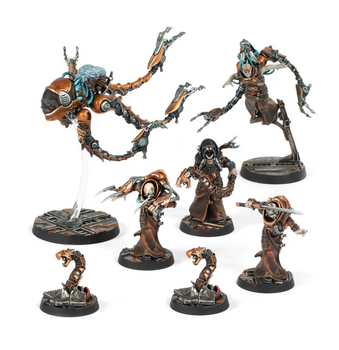 300-77 Necromunda: Delaque Nacht-Ghul and Psy-Gheists