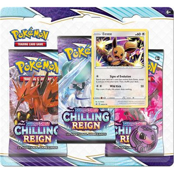 Sword and Shield – Chilling Reign 3 Booster Blister