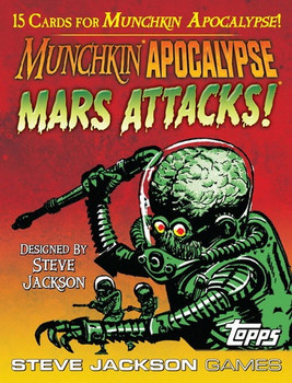 Munchkin Apocalypse: Mars Attacks