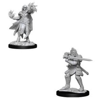 Hobgoblin Fighter Male & Hobgoblin Wizard Female W15