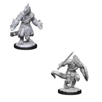Lizardfolk Barbarian & Lizardfolk Cleric W15