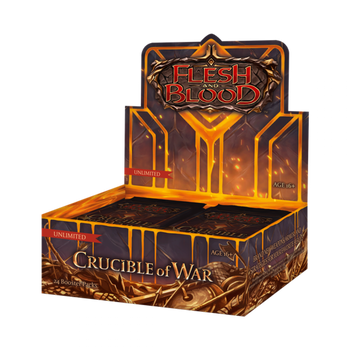 Crucible of War -  Unlimited Edition Booster Display