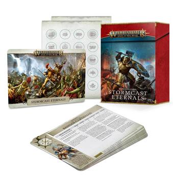 96-05 Warscroll Cards: Stormcast Eternals 2021