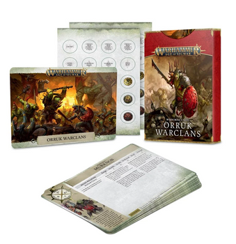 89-04 Warscroll Cards: Orruk Warclans 2021