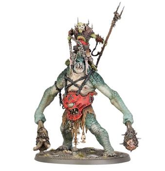 89-68 Orruk Warclans: Breaka-Boss on Mirebrute Troggoth