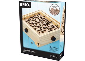 Wooden Labyrinth Maze Game