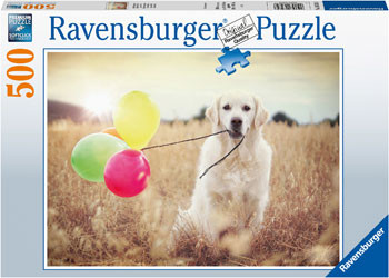 Balloon Party with Dog 500 Pieces