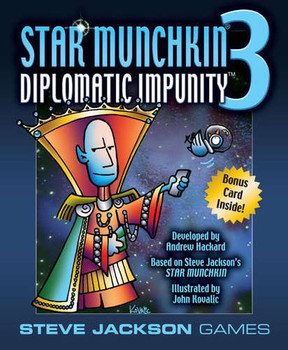 Star Munchkin 3 Diplomatic Impunity