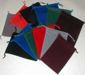 Small Suedecloth Dice Bag