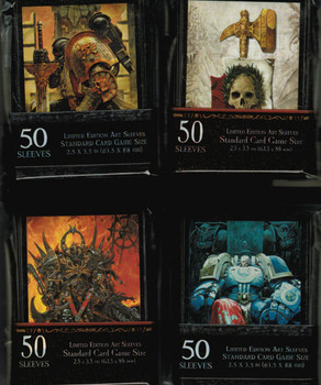 Warhammer & 40K Limited Art Sleeves
